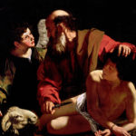 "Caravaggio, ""Sacrifice of Isaac"" (c. 1603)"