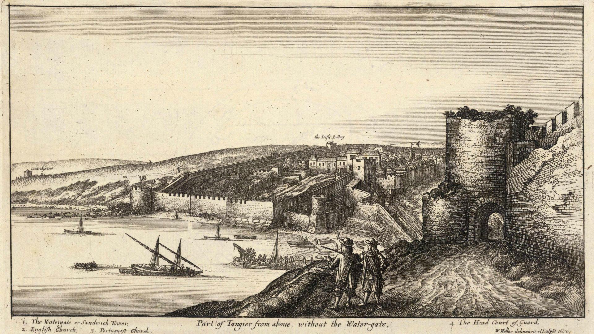 Tangier circa 1670