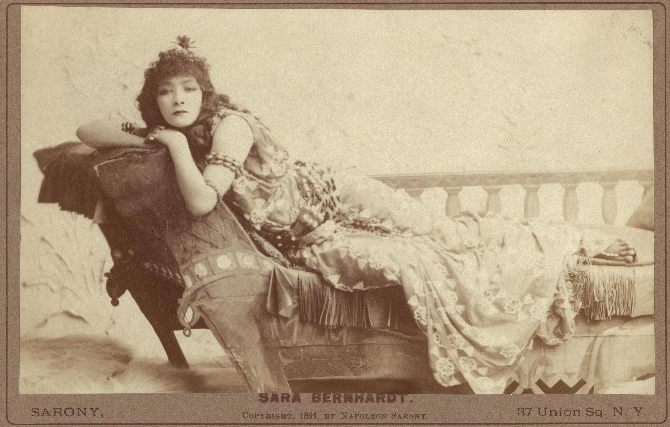 Sarah Bernhardt as Cleopatra