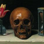 Still-Life with a Skull, Philippe de Champaigne (1671)