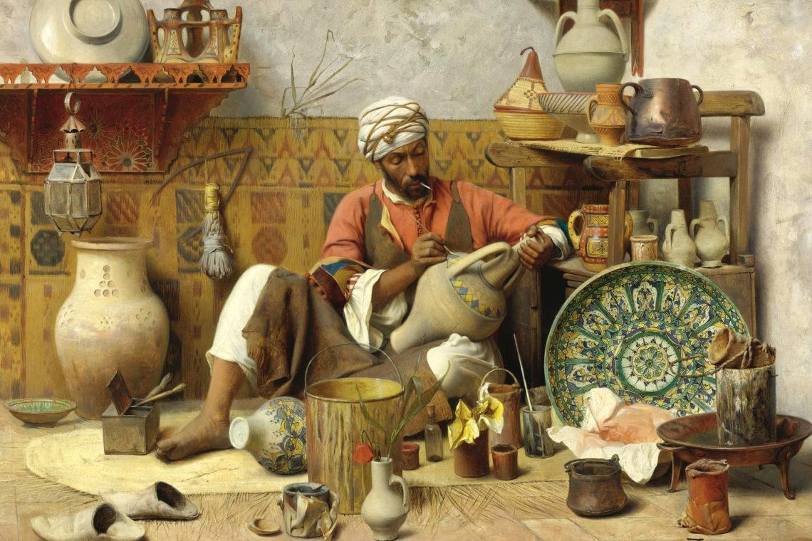 Jean Discart, L'Atalier de Poterie, Tanger | © Jean Discart